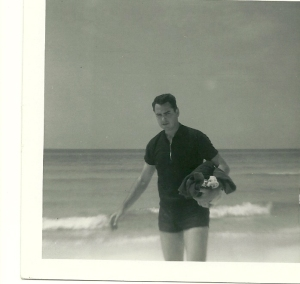 Bob at Panama Beach 1964