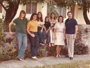 Family in Coconut Grove Miami