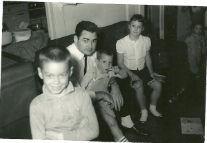 Winter Haven, Bob and kids at Wilson's house